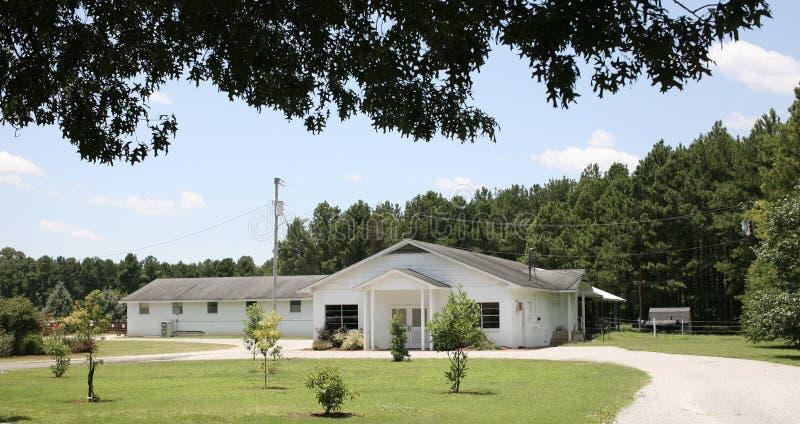Lätthet på den västra Tennessee Agricultural Research Center arkivfoto