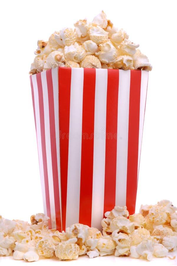 Download Låda av nytt popcorn fotografering för bildbyråer. Bild av låda - 37345439