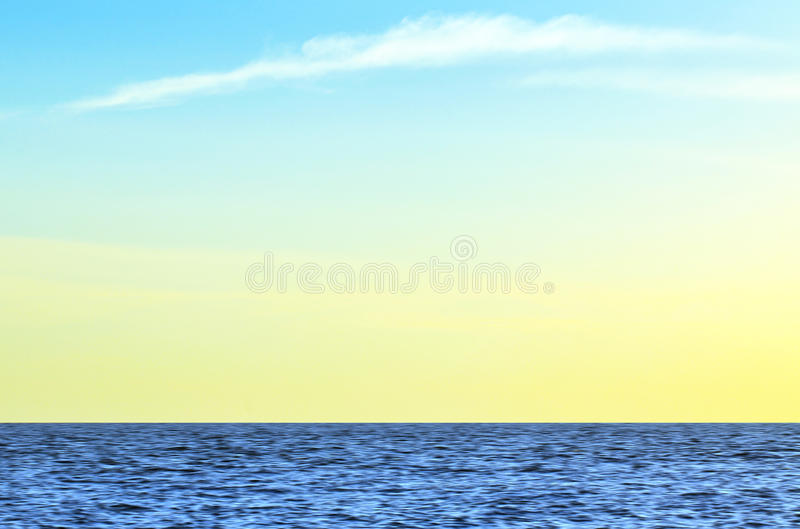 Lång exponering av havet och svårigheter av malacca under solnedgång royaltyfri foto