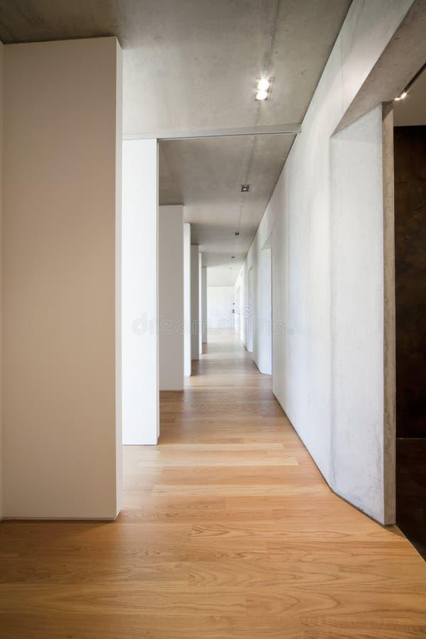 Lång korridor arkivfoto