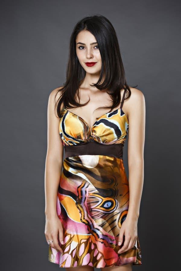 lång kvinna för hår arkivfoton