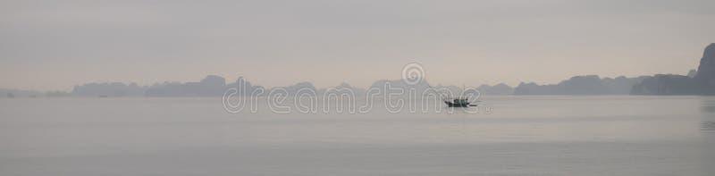lång panorama vietnam för fjärdha arkivbild