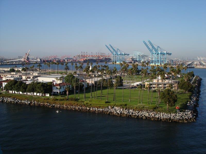 lång port för strandca arkivfoton