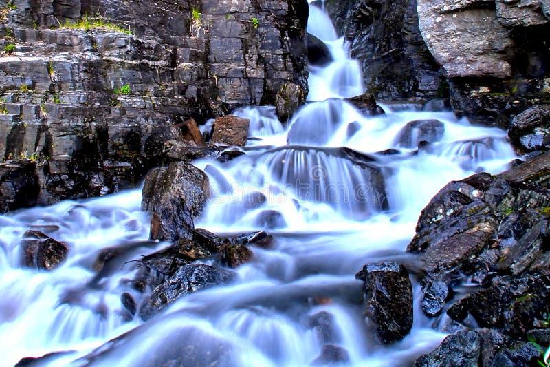lång vattenfall för exponering fotografering för bildbyråer