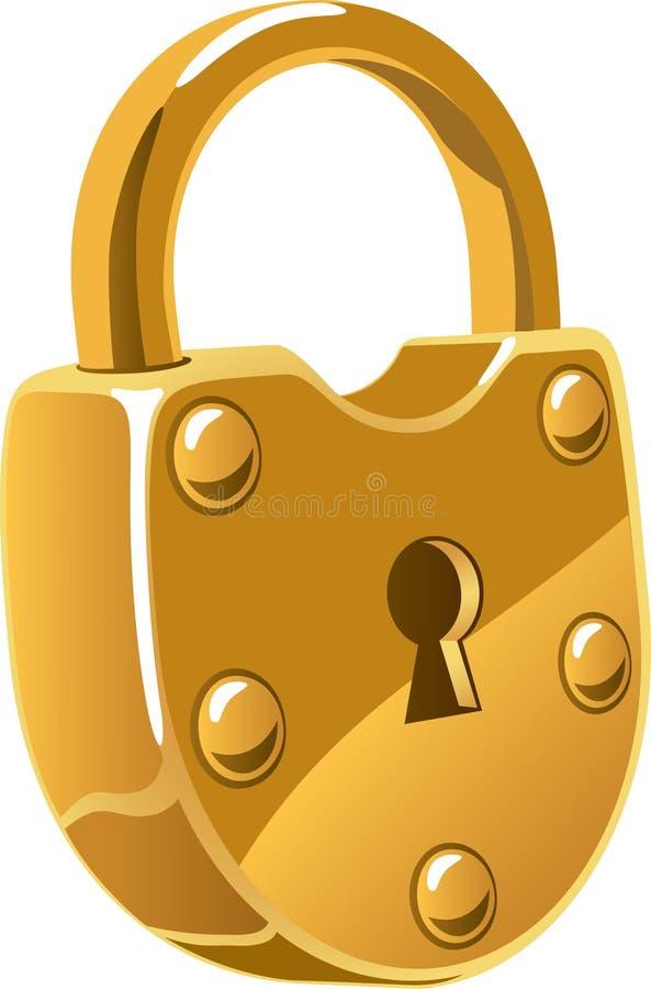 lås stock illustrationer