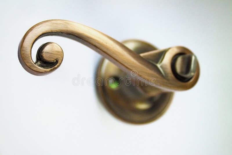 lås för dörrhandtag arkivbild