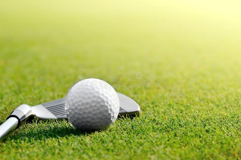 Låt oss golf royaltyfri foto