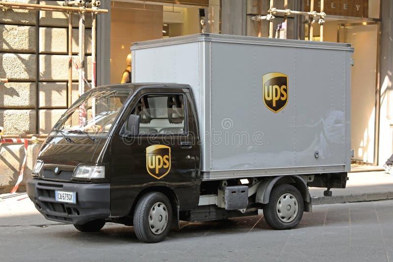 L?ve le camion ?lectrique photographie stock libre de droits