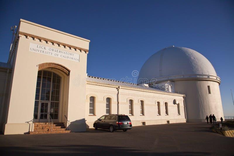 Léchez l'observatoire photographie stock