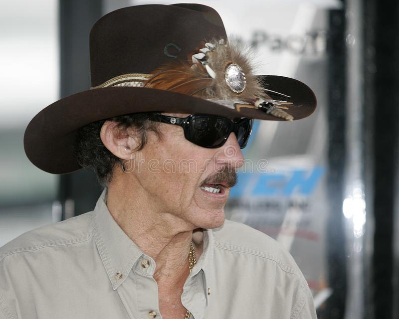Légende Richard Petty de NASCAR photo stock