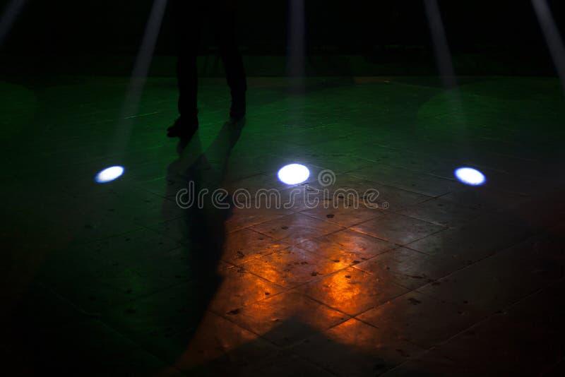 Download Léger Frappant Un Concert De Rock Image stock - Image du pendant, événement: 56475309