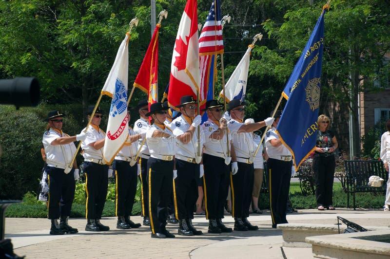 Légion américaine, branchement de Massachusetts de Plymouth photographie stock libre de droits