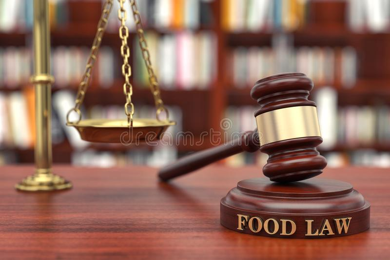 Législation alimentaire photos libres de droits