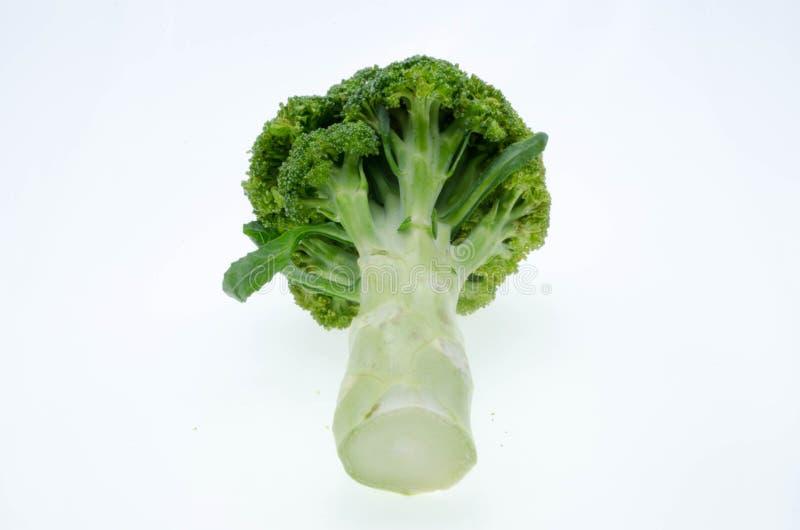 Légume de brocoli d'isolement sur le fond blanc image stock