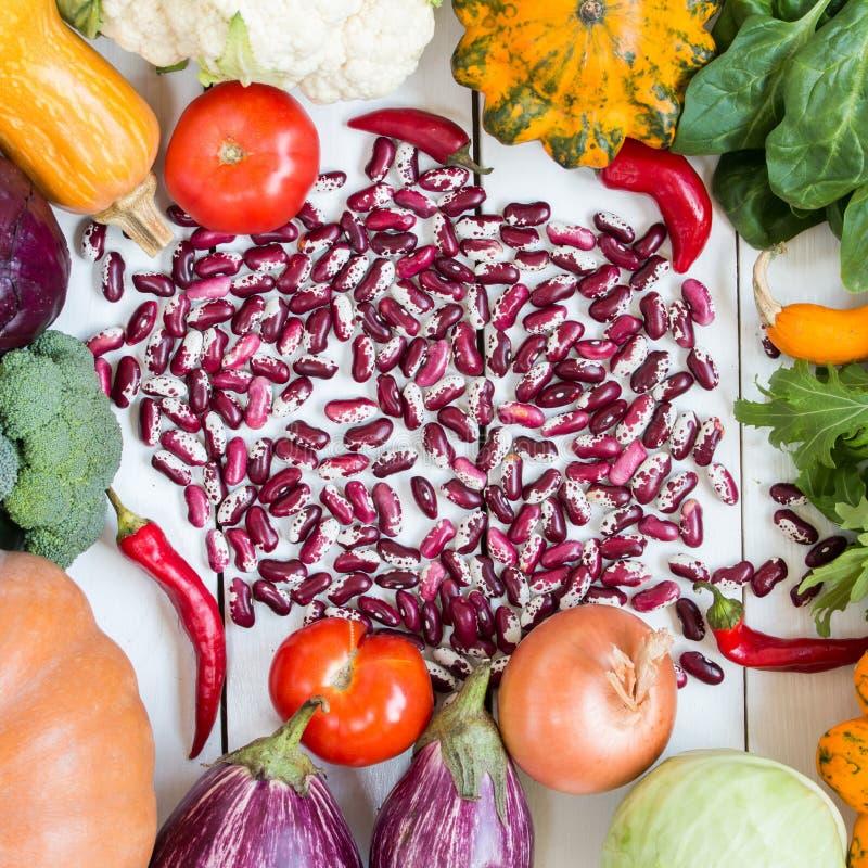 Légumes colorés photos stock