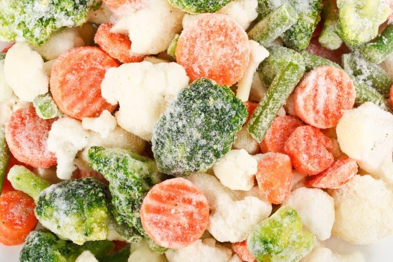 Légumes congelés frais photo libre de droits