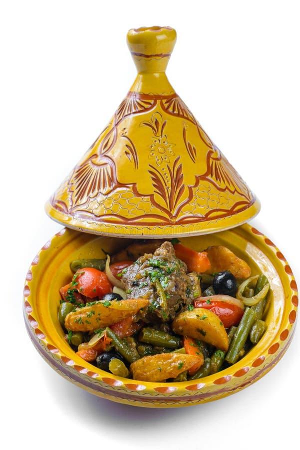 Légumes cuits à la vapeur dans un pot photo libre de droits