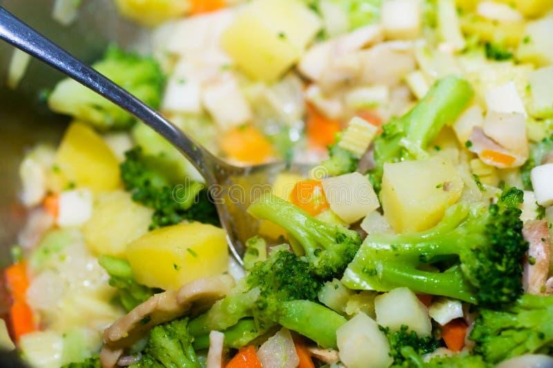 Légumes Cuits Images stock