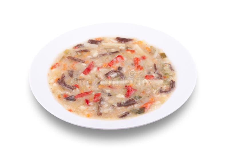 Download Légumes Cuits De Mélange De Chinois Avec Les Bandes Fongueuses Noires De Champignons Photo stock - Image du culinaire, dîner: 77154686