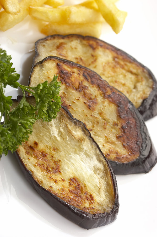 Légumes cuits par gril photographie stock libre de droits