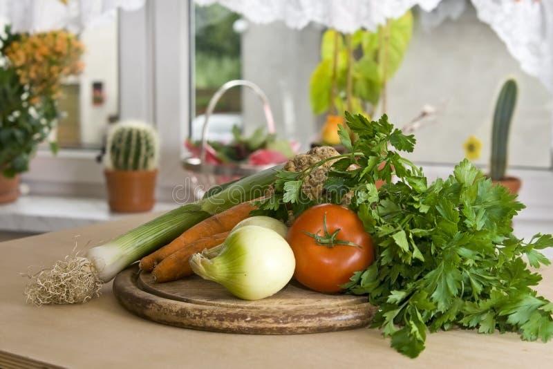 Légumes dans la cuisine photo stock