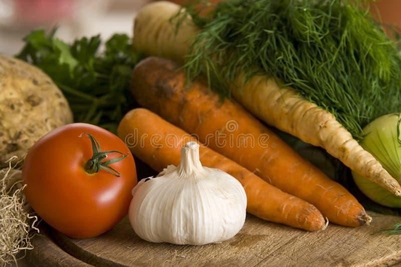 Légumes dans la cuisine photographie stock