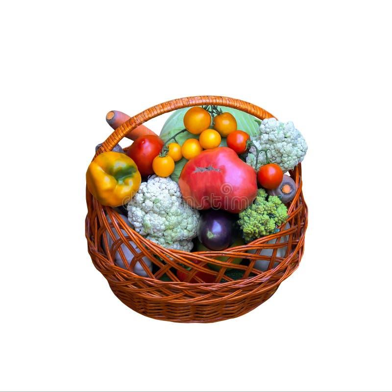 Légumes de fond d'aliment biologique photos libres de droits