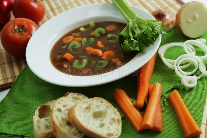 légumes de potage photographie stock