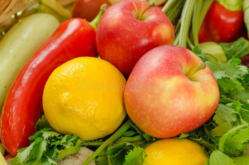 Légumes et fruits photo libre de droits