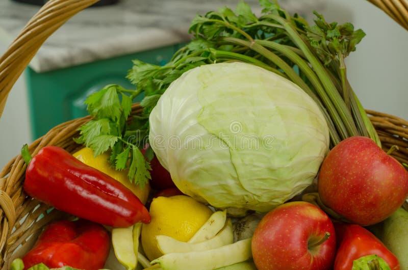 Légumes et fruits photographie stock