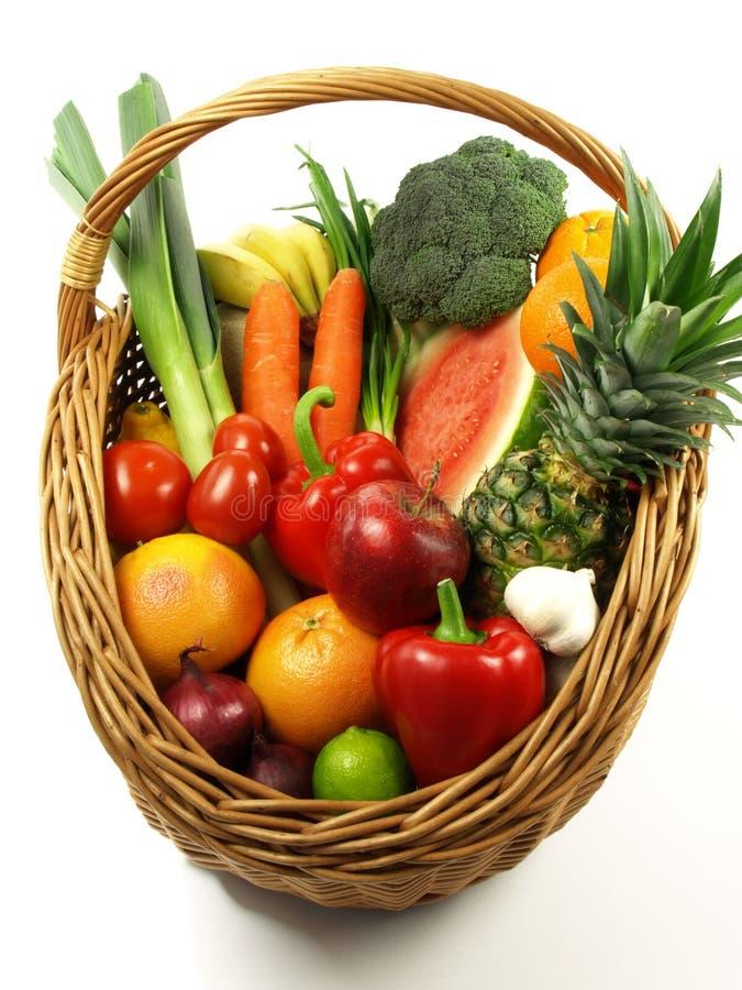 Légumes et fruits dans l'agriculture photos libres de droits