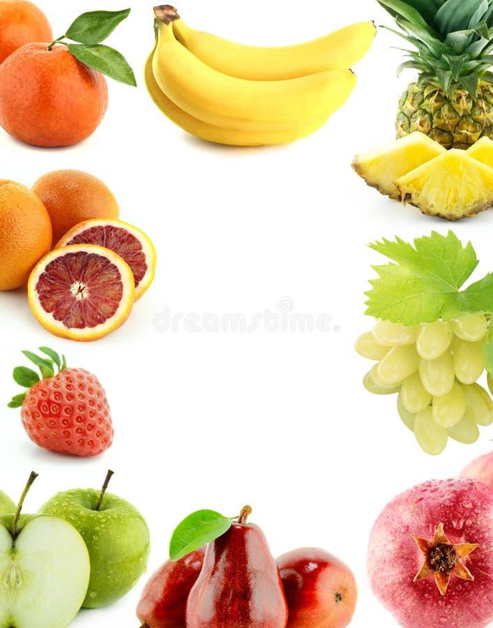 Légumes et fruits organiques sains photos stock