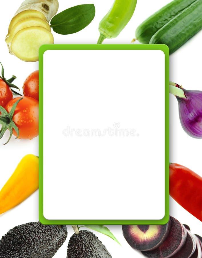 Légumes et fruits organiques sains image libre de droits