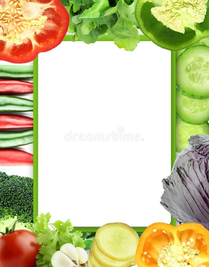 Légumes et fruits organiques sains image stock