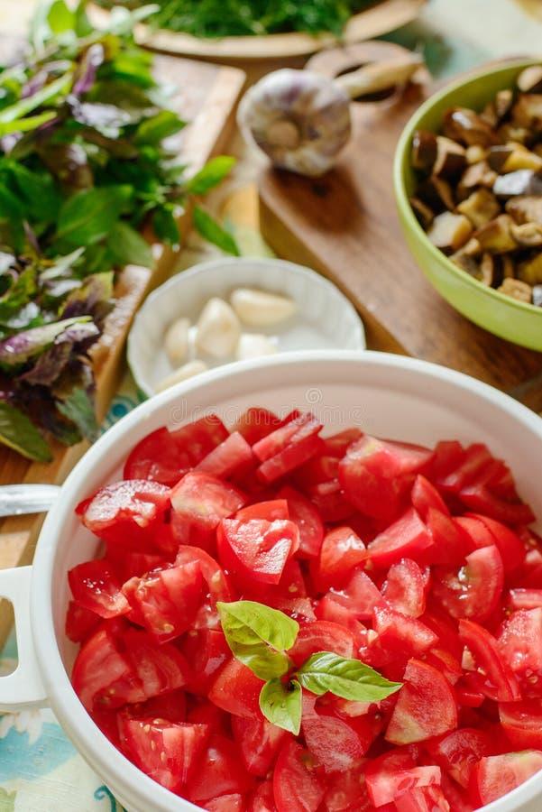 Légumes et herbes image libre de droits