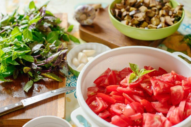 Légumes et herbes photographie stock libre de droits
