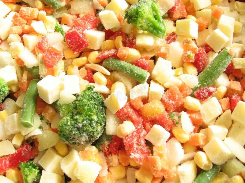 Légumes figés image stock