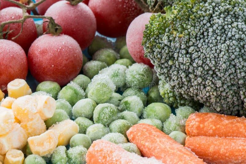 Légumes figés photographie stock libre de droits