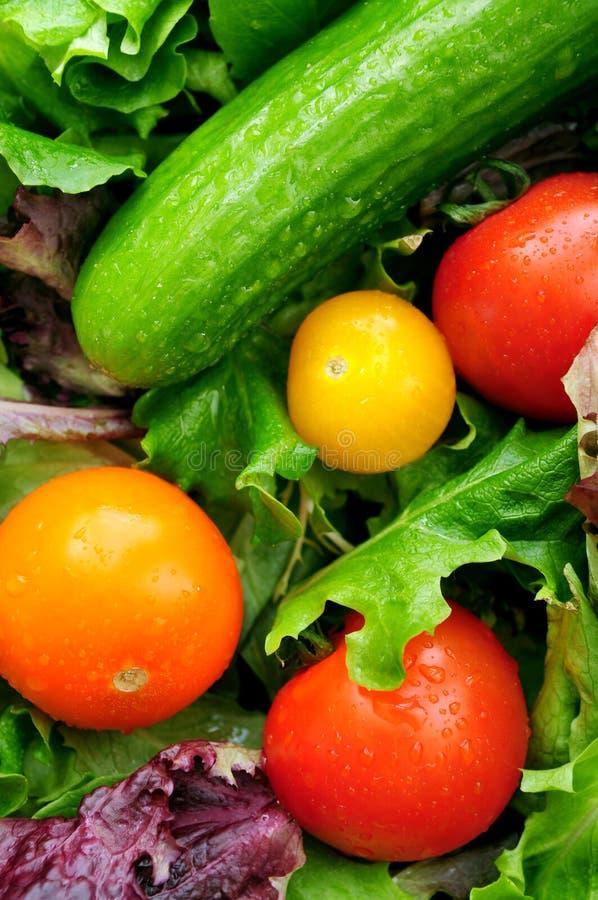 Download Légumes frais photo stock. Image du laitue, lame, fond - 4350218