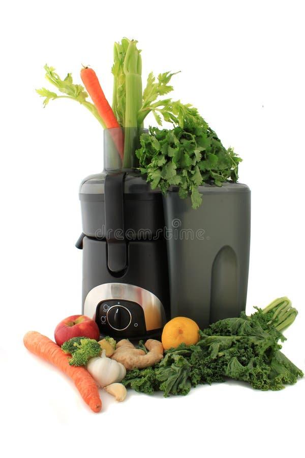 Légumes frais et fruit de Juicing photographie stock