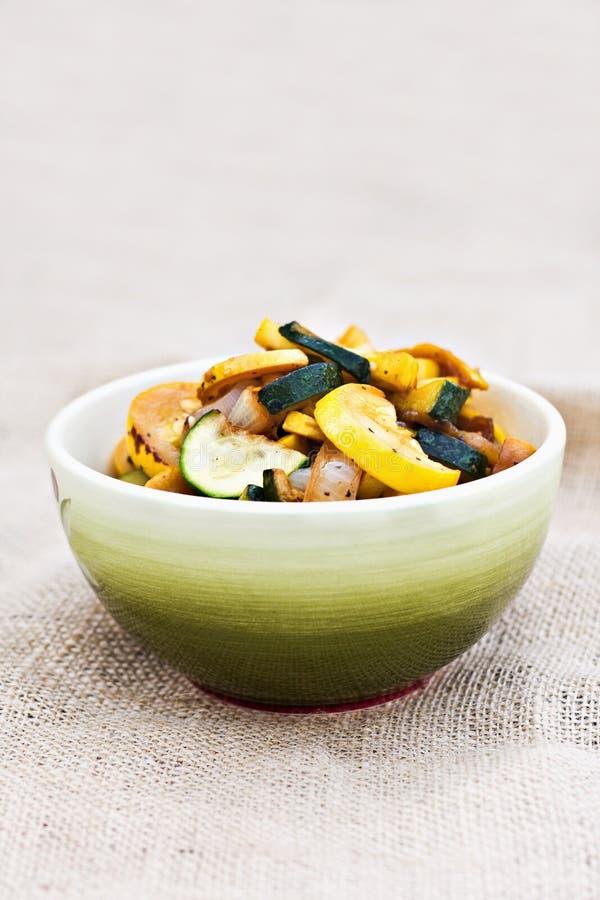 Légumes frits par Stir photographie stock
