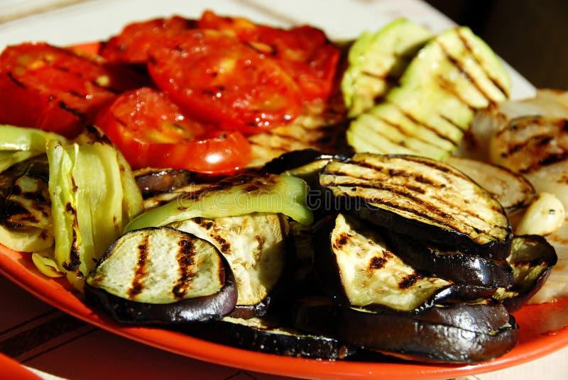 Légumes grillés photo stock