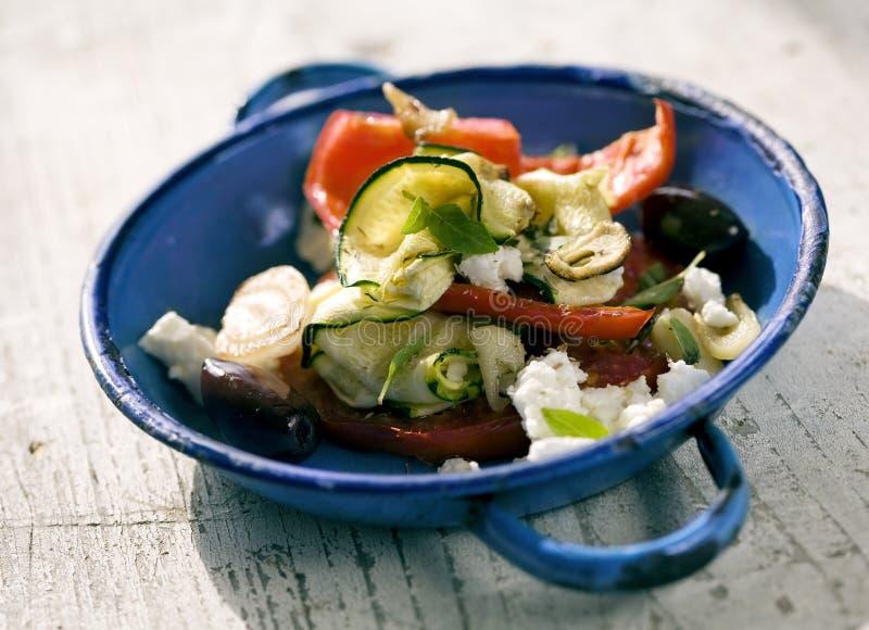 Légumes grillés image stock