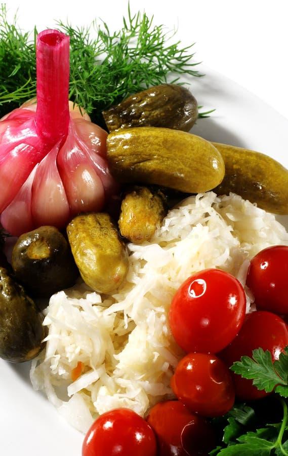 légumes marinés photos libres de droits