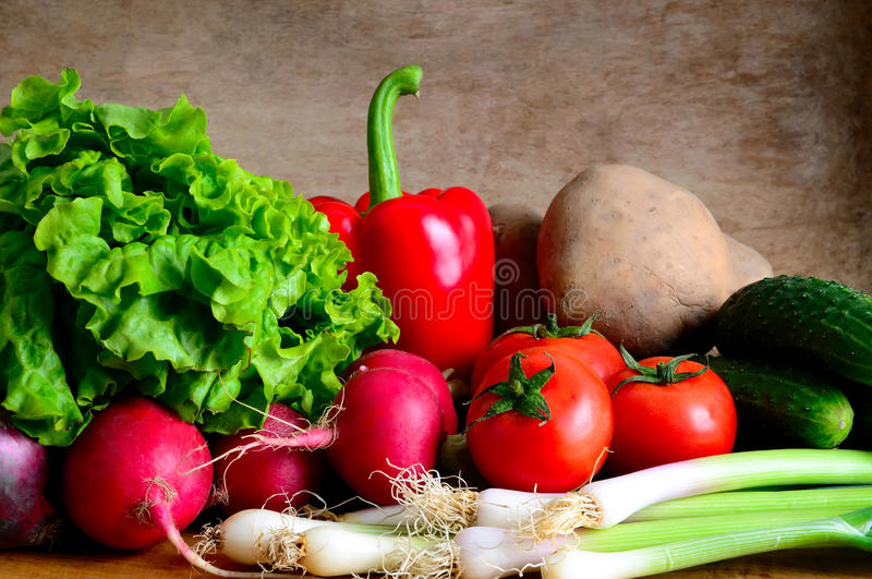 Légumes organiques frais photographie stock libre de droits