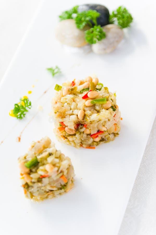 Légumes salés par cuisine chinoise images stock
