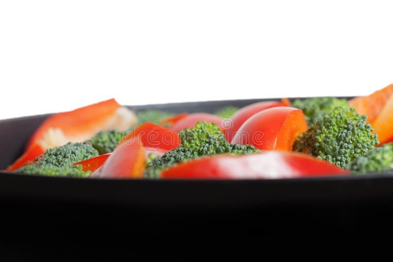 Légumes sur le carter. photo stock