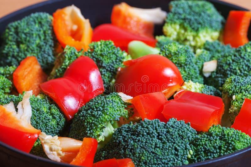 Légumes sur le carter. photos stock