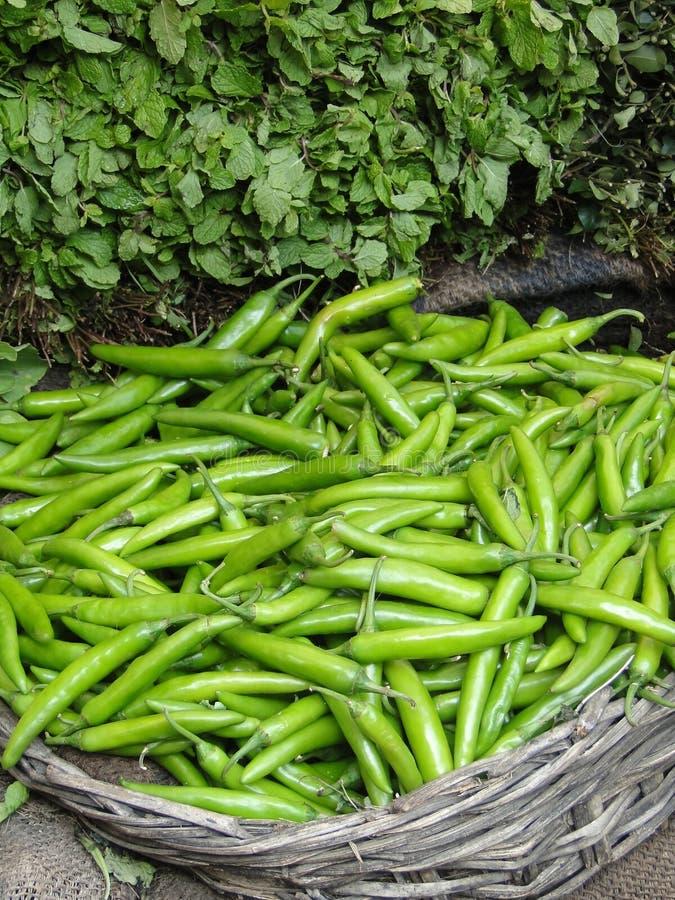 Légumes verts frais image libre de droits