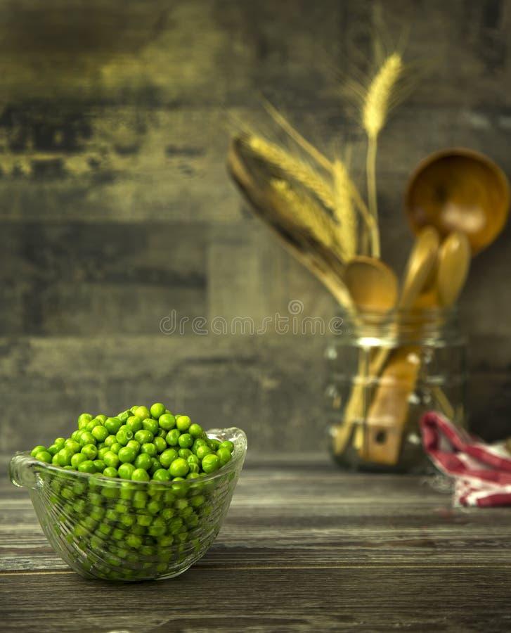 Légumineuses Dlicious et nourriture naturelle saine de mélange photos stock